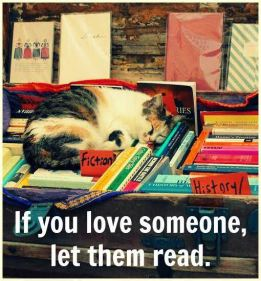 love someone let them read